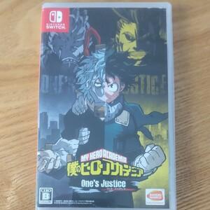 僕のヒーローアカデミア ONE'S JUSTICE Nintendo Switch ニンテンドースイッチ ポケモン
