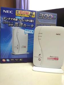 NEC Aterm 無線LANルータ PA-WR8175N-HP ハイパーロングレンジモデル Wi-Fi