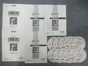 QJ26-032 LEC 東京リーガルマインド 公務員試験 農学Ⅰ 実力完成講座 講義編/理工Ⅳ 予想問題演習編等 2007 計5冊 DVD12枚付 S4D