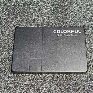 COLORFUL SL500 640GB SATA 2.5インチSSD 正常品 フォーマット済み PCパーツ 動作確認済み 500GB 512GB
