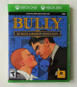 新品 ★ ブリー・スカラーシップ・エディション BULLY Scholarship Edition 北米版 ★ XBOX 360 / XBOX ONE / SERIES X