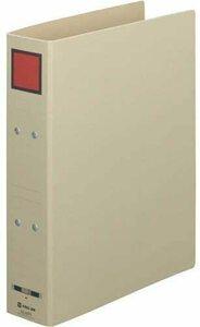【未使用品】キングジム 保存F ドッチ(両開き)A4縦背幅65mm赤×5冊セット