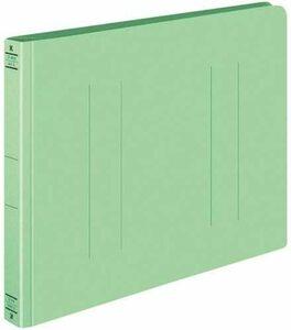 【未使用品】KOKUYO コクヨ フラットファイル 厚とじ A4ヨコ グリーン フ-W15NG×10冊セット