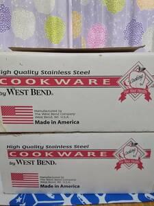Cookware ウエストベンドINKOR鍋セット 片手鍋 両手鍋 蒸し器 フライパン 未使用長期保管品