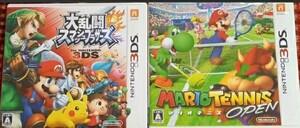 3DS 大乱闘スマッシュブラザーズ+マリオテニスオープン 動作確認済み 送料無料