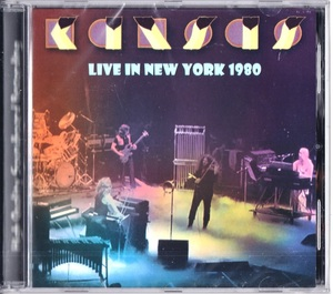 Kansas カンサス - Live In New York 1980 CD