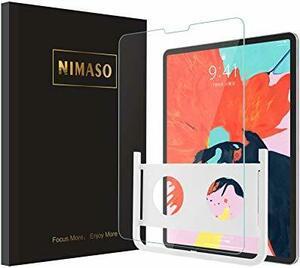 透明 11 Pro ガラスフィルム 11 inch 【ガイド枠付き】Nimaso iPad 2020 第二世代 /