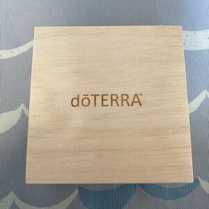 ドテラ doTERRA オイルBOX 木箱