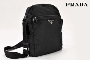 【美品】PRADA プラダ ワンハンドル ショルダーバッグ 斜め掛け ドバッグ 三生蔵 B100151