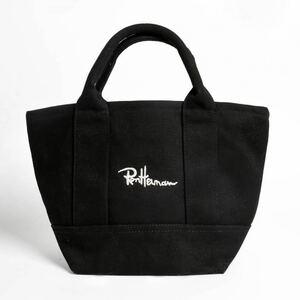 新品  Ron Herman ロンハーマン ミニトートバッグ キャンバス トートバッグ ブラック