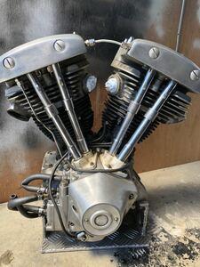 ハーレー ショベル エンジン 実働 ベースに チョッパー
