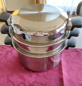 アムウェイシチューパン6L無水鍋