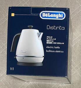 デロンギ ディスティンタコレクション 電気ケトル KBI1200J-W