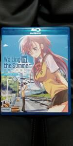 【送料込】中古BD あの夏で待ってる 全12話+OVA 2枚組 北米版ブルーレイ