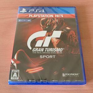 新品未開封 PS4 グランツーリスモSPORT