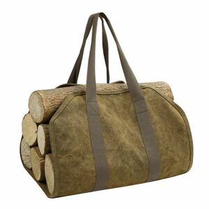 薪バッグ 薪キャリーバッグ キャンプ・アウトドアグッズの持ち運びに ソロキャンプ