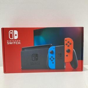 任天堂 Nintendo Switch ニンテンドースイッチ 新型 現行モデル ネオンブルー ネオンレッド HAD-S-KABAA 店舗印なし 新品 未使用 (U)