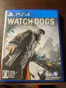即決! PS4 WATCH DOGS ウォッチドッグス 1 日本版 中古 プレステ4 ゲームソフト 送料無料