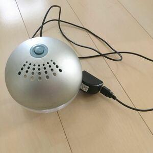COCORO@mode 空気清浄機 アロマディフューザー シルバー Sサイズ