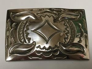インディアンジュエリー バックル 6 ADRIAN REEVES A.R.LONG エイドリアンリーブス ネイティブアメリカン ナバホ カントリー ウエスタン