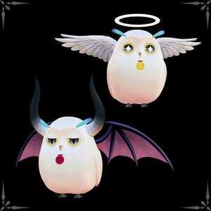 PS5 PS4 テイルズ オブ アライズ アソビストア限定特典 アタッチメント 天使のフルル人形 悪魔のフルル人形 プロダクトコード DLC