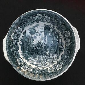 ロイヤルチューダー サラダボウル お皿 深皿 Royal Tudor ware Coaching Taverns 1828