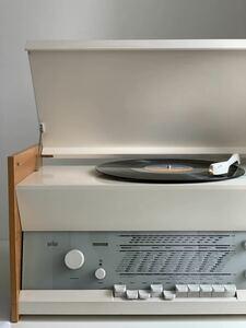 【美品】名作 Braun atelier1-81 Record Player レコードプレーヤー Dieter Rams ディーターラムス