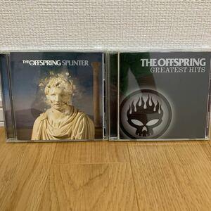 THE OFFSPRING アルバム2枚セット 1.SPLINTER 2.GREATEST HITS(ベストアルバム)