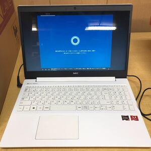 # NEC LAVIE Note Standard NS600/RAW カームホワイト - 15.6型ノートパソコン[Ryzen 7 / メモリ 8GB / SSD 256GB / DVDドライブ]