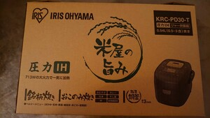 価格交渉不可 新品 アイリスオーヤマ 圧力IHジャー炊飯器 KRC-PD30-T