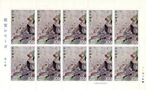 記念切手 1977年 国宝シリーズ 第2集 平家納経