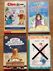 英語 洋書* 小学生向け 3冊セット