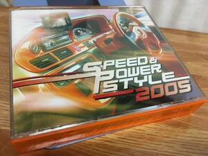 SPEED & POWER STYLE 2005 スピード パワー スタイル ベスト SUPER GT EUROBEAT ユーロビート 定形外郵便可