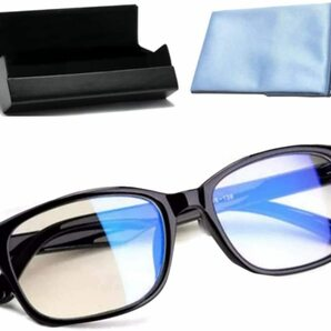 【令和2年 ブルーライトカットメガネ ブルーライト PCメガネ ウェリントン HEV90%カット 紫外線カット 軽量 男女兼用 伊達メガネ 度なし