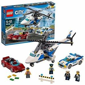 残り1個★ レゴ (LEGO) シティ ポリスヘリコプターとポリスカー 60138 ブロック おもちゃ 男の子 車