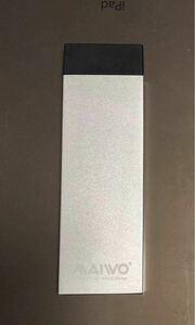 M.2 SSD (Sata) USB3.0アルミ外付ケース
