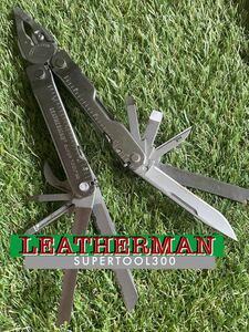 LEATHERMAN SUPERTOOL300 レザーマン マルチツール マルチプライヤー ツールナイフ