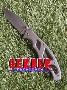 GERBER Paraframe #001 ガーバー パラフレーム フォールディングナイフ 折りたたみナイフ