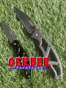 GERBER #006 Paraframe 2本 ガーバー パラフレーム フォールディングナイフ 折りたたみナイフ