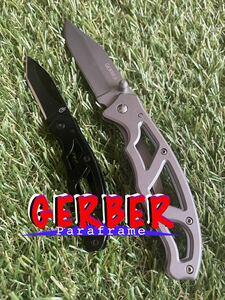 GERBER #013 Paraframe 2本セット ガーバー パラフレーム フォールディングナイフ 折りたたみナイフ