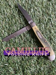 CAMILLUS #008 Folding Knife 2枚刃 カミラス フォールディングナイフ