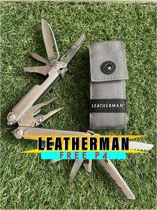 未使用品 LEATHERMAN FREE P4 レザーマン マルチツール ツールナイフ マルチプライヤー