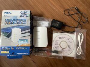 NEC PA-WR8165N-ST wi-fiルーター 無線LANルーター