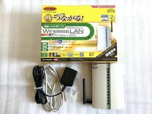 無線LAN コレガ ブロードバンドルーター CG-WLBARGS