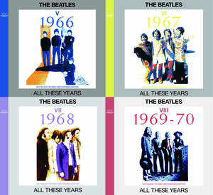 THE BEATLES / ALL THESE YEARSⅤ~Ⅷ 1966~1970 ANTHOLOGY REVISED AND EXPANDED EDITION SET 【8CD】