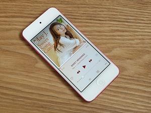 ◆◆<展示品>iPod touch 第5世代 32G ピンク A1421 モデル:MD717J/A 外観そこそこきれい 動作良好 バッテリ長持ち  T5-1017◆◆