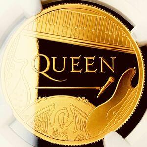 【世界で3枚!】2020年 イギリス QUEEN 100ポンド金貨 1オンス NGC PF69UC ミュージックレジェンド クイーン モダンコイン アンティーク