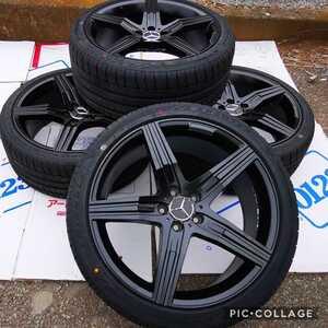 新品 タイヤホイール4本セット ベンツ Sクラス CL Sクーペ W221 W216 W222 W217 20インチタイヤとホイール付き255/35R20 275/35R20