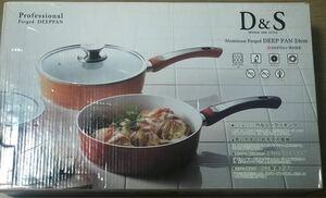 新品未使用 D&Sグリルパン 24cm フライパン