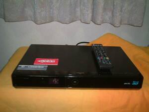 <DVD難有り>1ヶ月保証 シャープ BD-HDS63  HDD/DVD/ブルーレイ/ レコーダー  新品リモコン  B-CASカード付